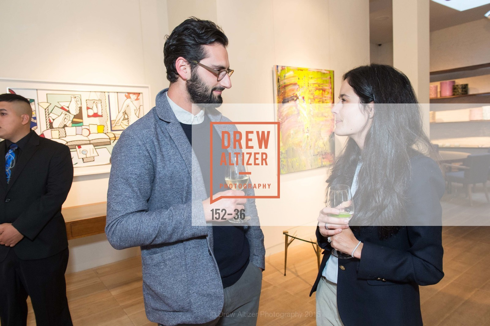 Joseph Becker, Florie Hutchinson, Post War and Contemporary preview at Hedge Gallery , Hedge Gallery. 501 Pacific Ave, San Francisco, CA 94133, April 16th, 2015,Drew Altizer, Drew Altizer Photography, full-service event agency, private events, San Francisco photographer, photographer California