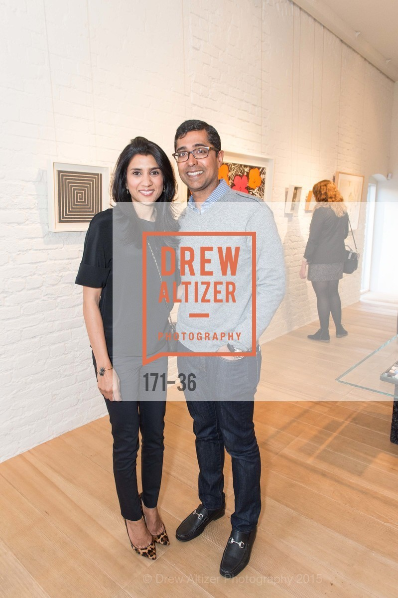 Alka Agrawal, Ravin Agrawal, Post War and Contemporary preview at Hedge Gallery , Hedge Gallery. 501 Pacific Ave, San Francisco, CA 94133, April 16th, 2015,Drew Altizer, Drew Altizer Photography, full-service agency, private events, San Francisco photographer, photographer california