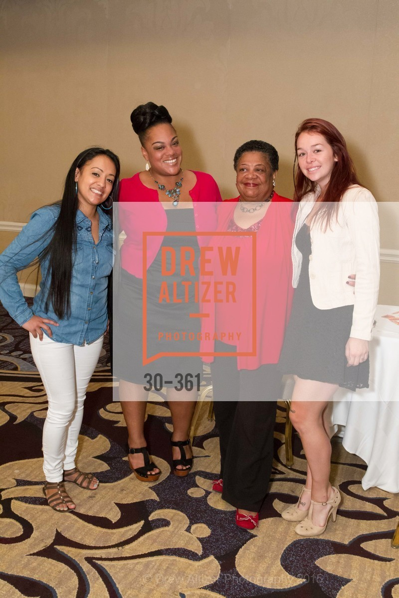 Julia Arroyo, Scheneida Williams, Helen Williams, Lily Rylander, Homeless Prenatal Programs Annual Luncheon, Fairmont Hotel, October 9th, 2015,Drew Altizer, Drew Altizer Photography, full-service agency, private events, San Francisco photographer, photographer california