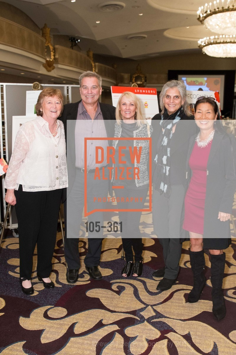 Martha Ryan, Steve Gorsky, Kim Bochy, Roberta Goodman, Linda Walgren, Homeless Prenatal Programs Annual Luncheon, Fairmont Hotel, October 9th, 2015,Drew Altizer, Drew Altizer Photography, full-service agency, private events, San Francisco photographer, photographer california