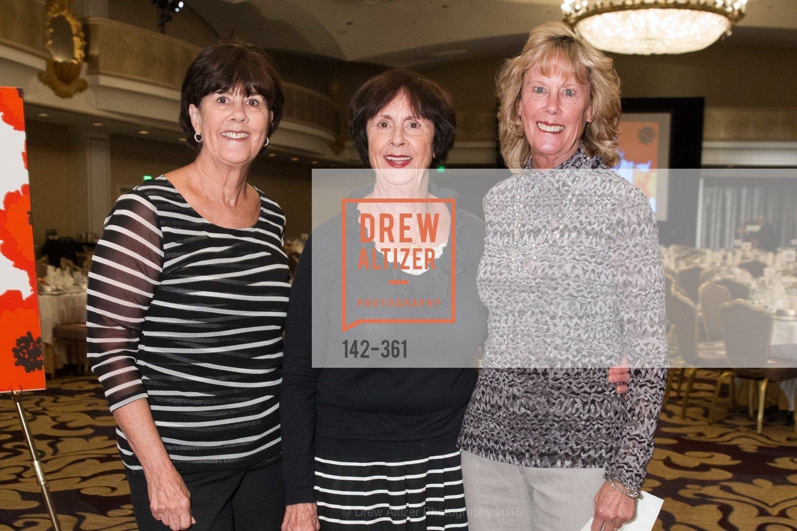 Debbie Blake, Mary Reddin, Mary Meyer, Homeless Prenatal Programs Annual Luncheon, Fairmont Hotel, October 9th, 2015,Drew Altizer, Drew Altizer Photography, full-service agency, private events, San Francisco photographer, photographer california