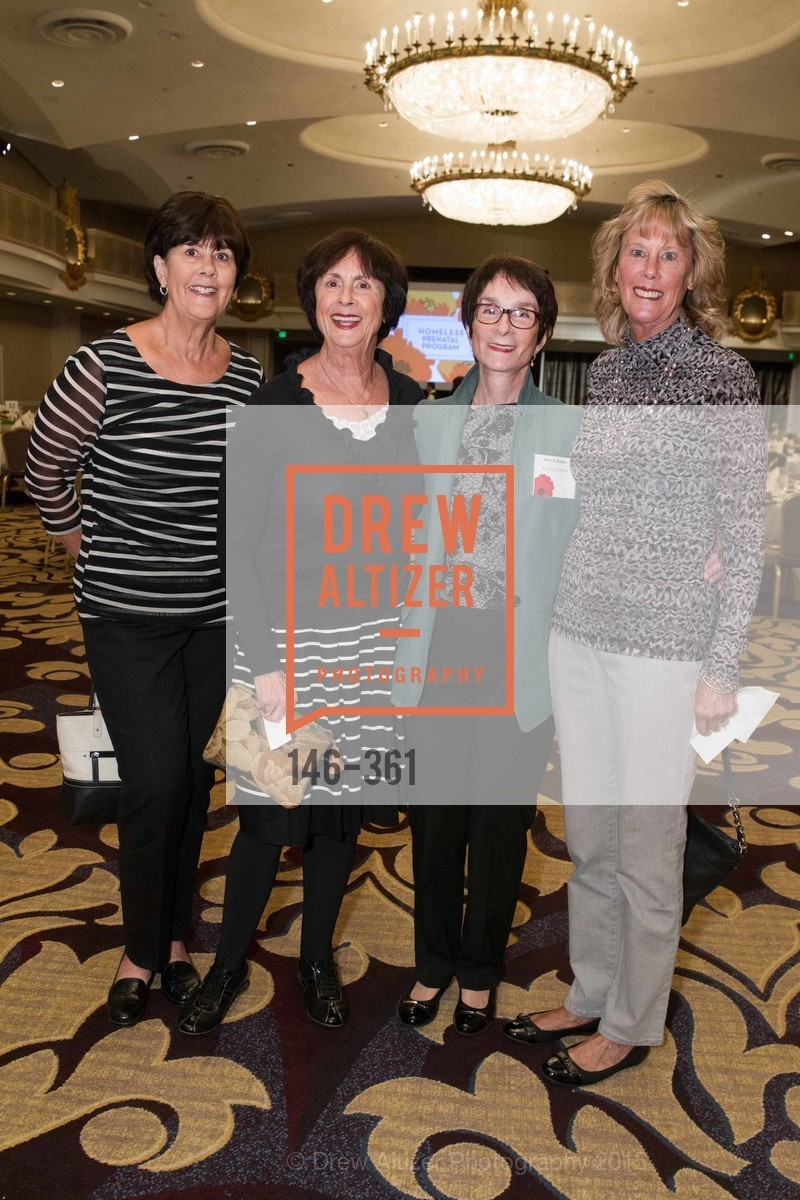 Debbie Blake, Mary Reddin, Karen Shay, Mary Meyer, Homeless Prenatal Programs Annual Luncheon, Fairmont Hotel, October 9th, 2015,Drew Altizer, Drew Altizer Photography, full-service agency, private events, San Francisco photographer, photographer california