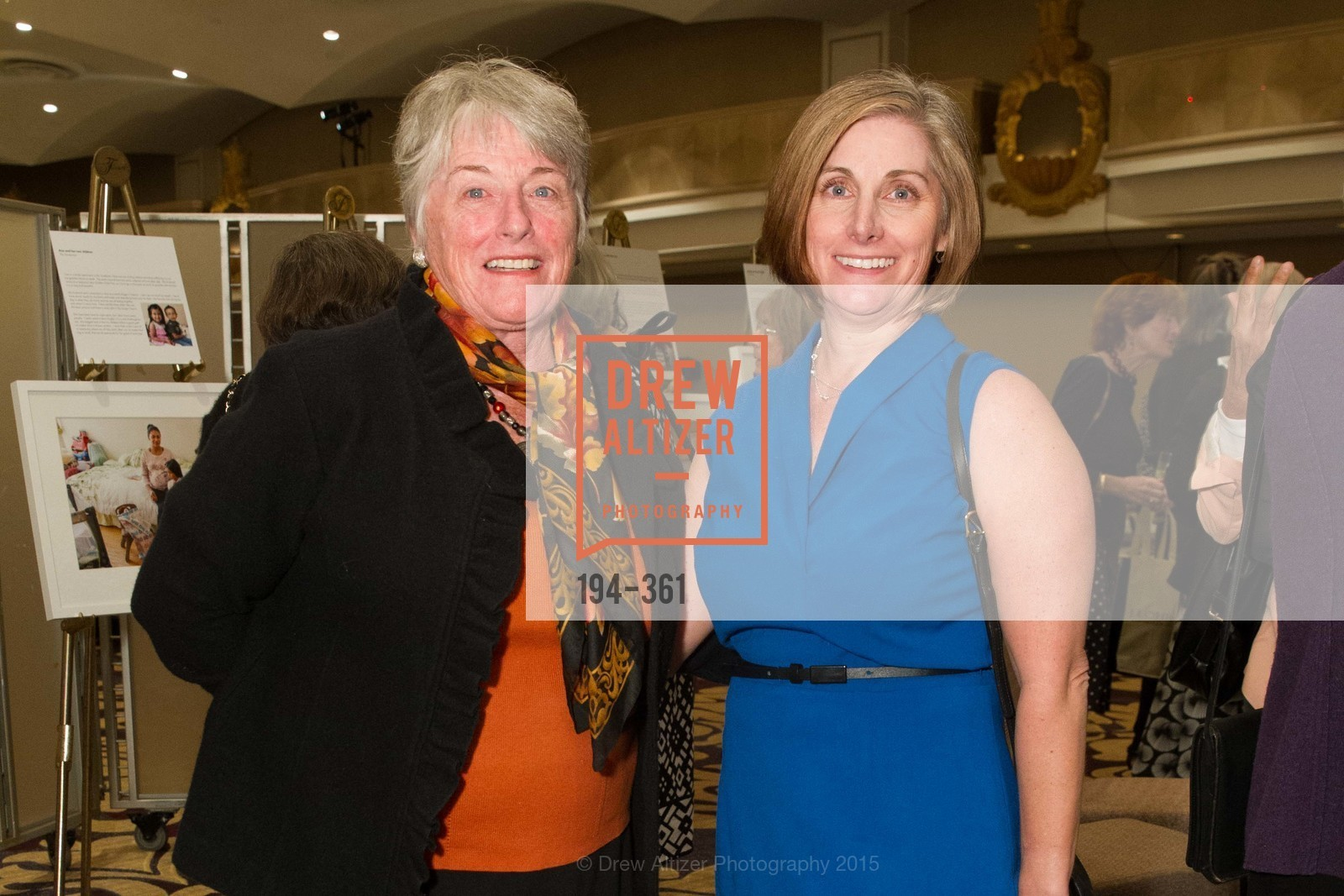 Ann Ford, Theresa Lucy, Homeless Prenatal Programs Annual Luncheon, Fairmont Hotel, October 9th, 2015,Drew Altizer, Drew Altizer Photography, full-service agency, private events, San Francisco photographer, photographer california