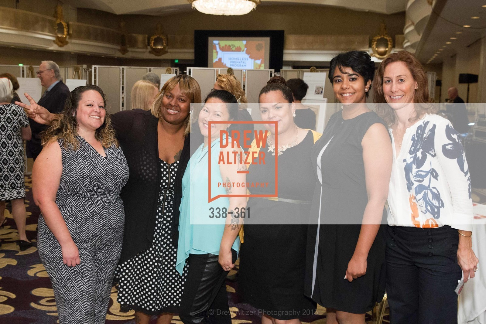 Christina Hernandez, Maisha Jones, Sophia Messina, Darlene Cicana, Catherine Castro, Victoria Camilio, Homeless Prenatal Programs Annual Luncheon, Fairmont Hotel, October 9th, 2015,Drew Altizer, Drew Altizer Photography, full-service agency, private events, San Francisco photographer, photographer california