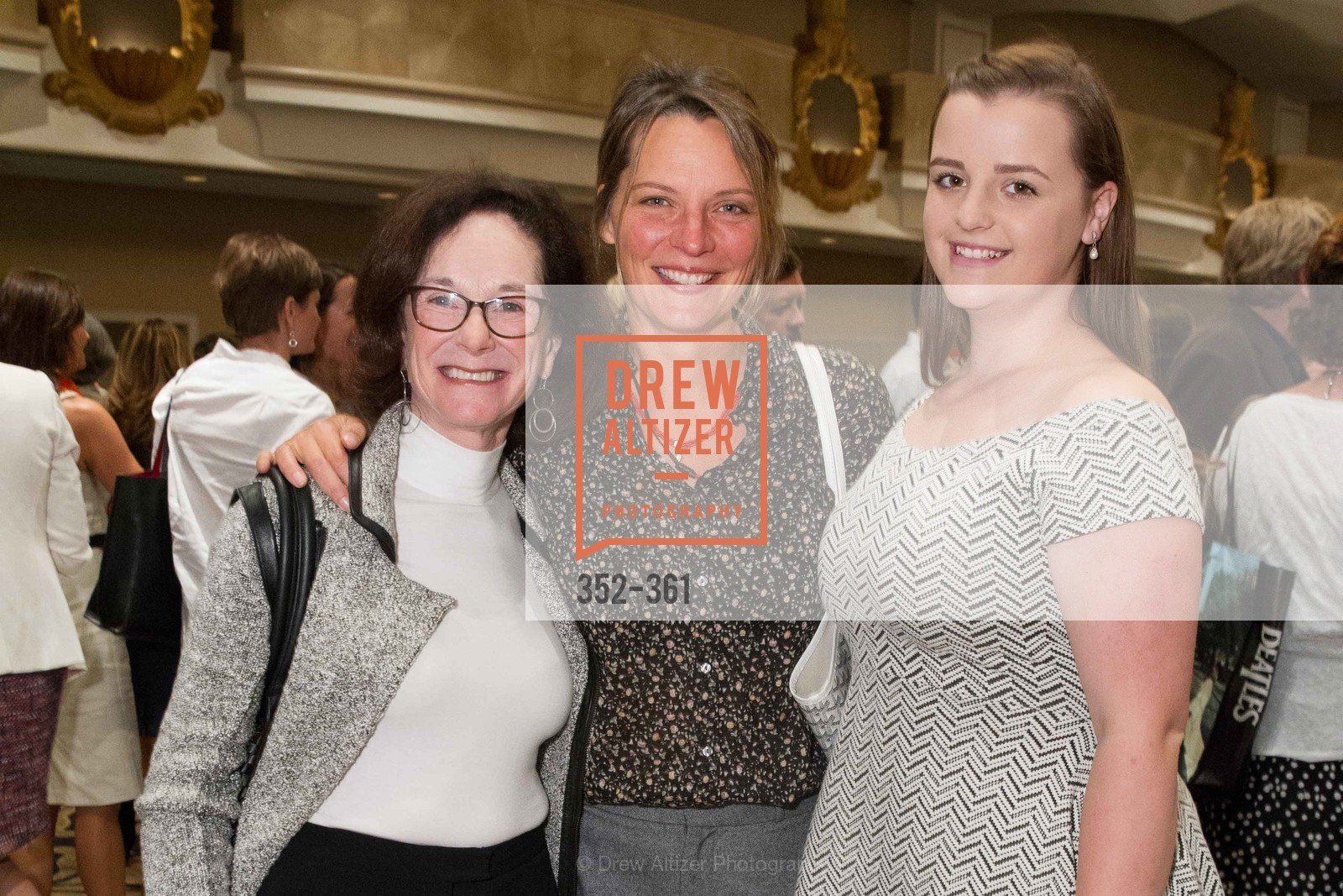 Susan Daniels, Cara Daniels, Emma McDonald, Homeless Prenatal Programs Annual Luncheon, Fairmont Hotel, October 9th, 2015,Drew Altizer, Drew Altizer Photography, full-service agency, private events, San Francisco photographer, photographer california