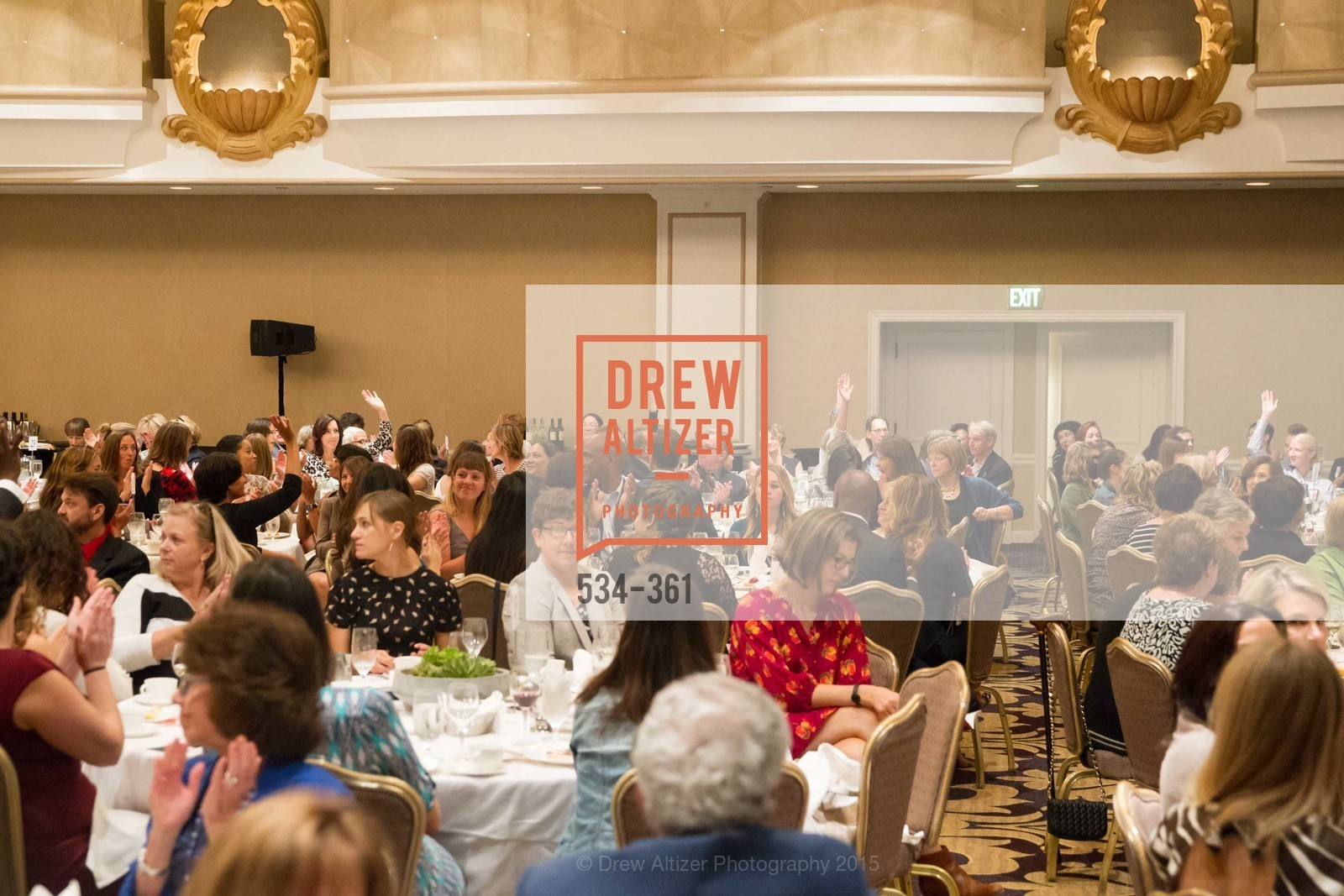 Atmosphere, Homeless Prenatal Programs Annual Luncheon, Fairmont Hotel, October 9th, 2015,Drew Altizer, Drew Altizer Photography, full-service event agency, private events, San Francisco photographer, photographer California