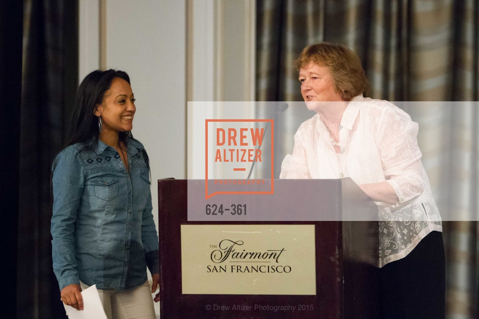 Julia Arroyo, Martha Ryan, Homeless Prenatal Programs Annual Luncheon, Fairmont Hotel, October 9th, 2015,Drew Altizer, Drew Altizer Photography, full-service event agency, private events, San Francisco photographer, photographer California