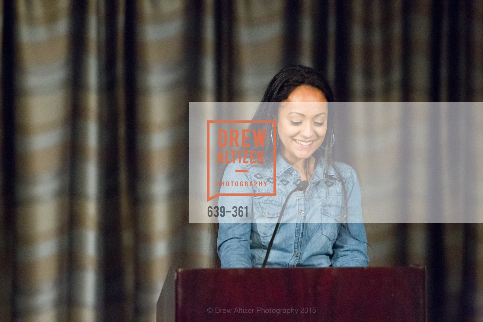 Julia Arroyo, Homeless Prenatal Programs Annual Luncheon, Fairmont Hotel, October 9th, 2015,Drew Altizer, Drew Altizer Photography, full-service agency, private events, San Francisco photographer, photographer california