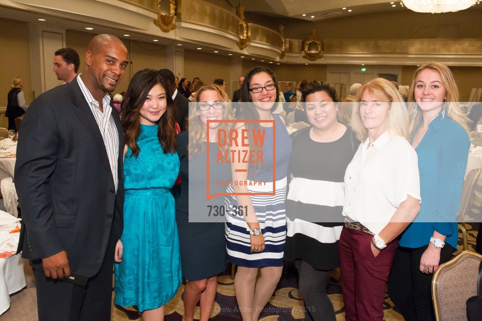 Eric Johnson, Victoria Nguyen, Tamara Johnson, Andrea Quincinia, Monay Lacapp, Gay Harris, Summer Harris, Homeless Prenatal Programs Annual Luncheon, Fairmont Hotel, October 9th, 2015,Drew Altizer, Drew Altizer Photography, full-service agency, private events, San Francisco photographer, photographer california