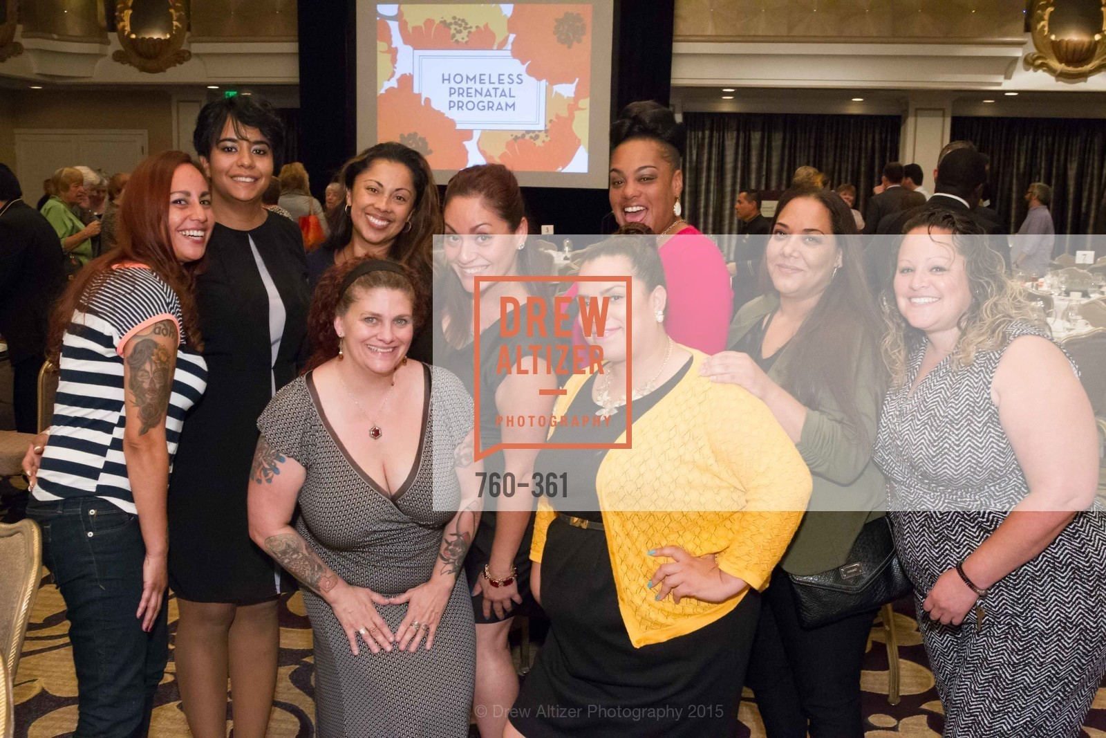 Group Photo, Homeless Prenatal Programs Annual Luncheon, Fairmont Hotel, October 9th, 2015,Drew Altizer, Drew Altizer Photography, full-service event agency, private events, San Francisco photographer, photographer California