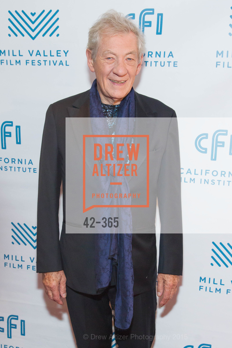 Sir Ian McKellan, Mill Valley Film Festival Tribute to Ian McKellen, Christopher B. Smith Rafael Film Center. 1118 Fourth Street, October 10th, 2015,Drew Altizer, Drew Altizer Photography, full-service agency, private events, San Francisco photographer, photographer california