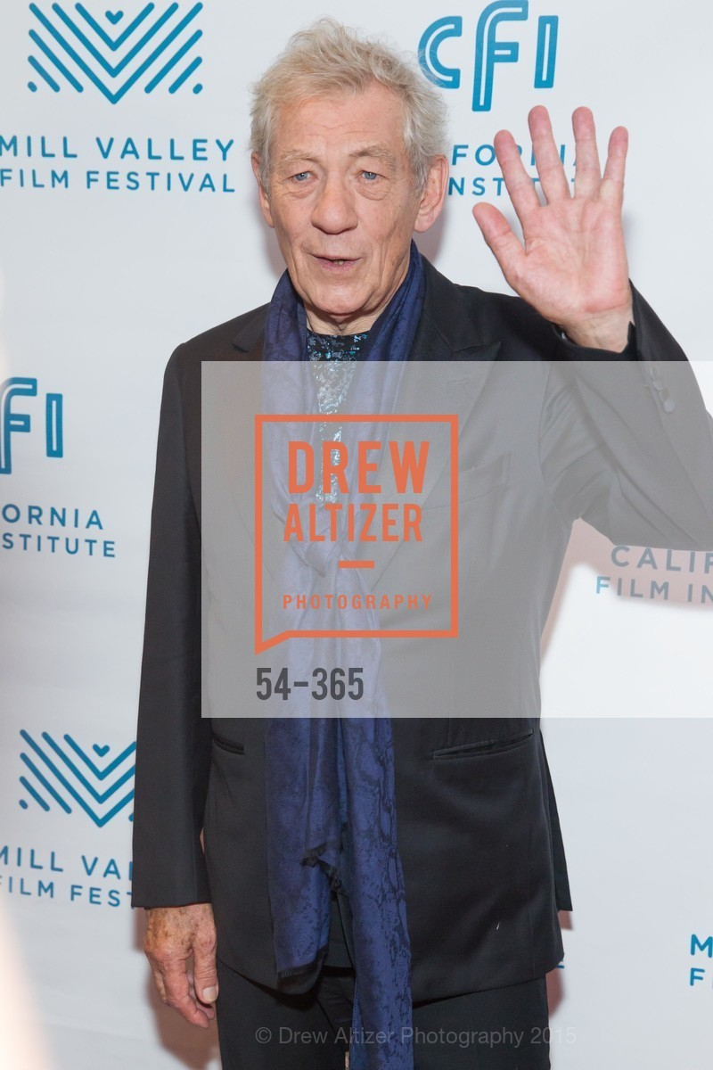 Sir Ian McKellan, Mill Valley Film Festival Tribute to Ian McKellen, Christopher B. Smith Rafael Film Center. 1118 Fourth Street, October 10th, 2015,Drew Altizer, Drew Altizer Photography, full-service event agency, private events, San Francisco photographer, photographer California