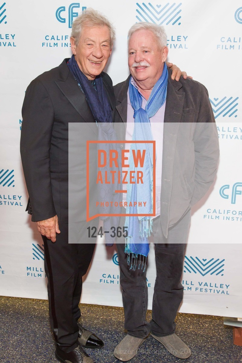 Sir Ian McKellan, Armistead Maupin, Mill Valley Film Festival Tribute to Ian McKellen, Christopher B. Smith Rafael Film Center. 1118 Fourth Street, October 10th, 2015,Drew Altizer, Drew Altizer Photography, full-service event agency, private events, San Francisco photographer, photographer California