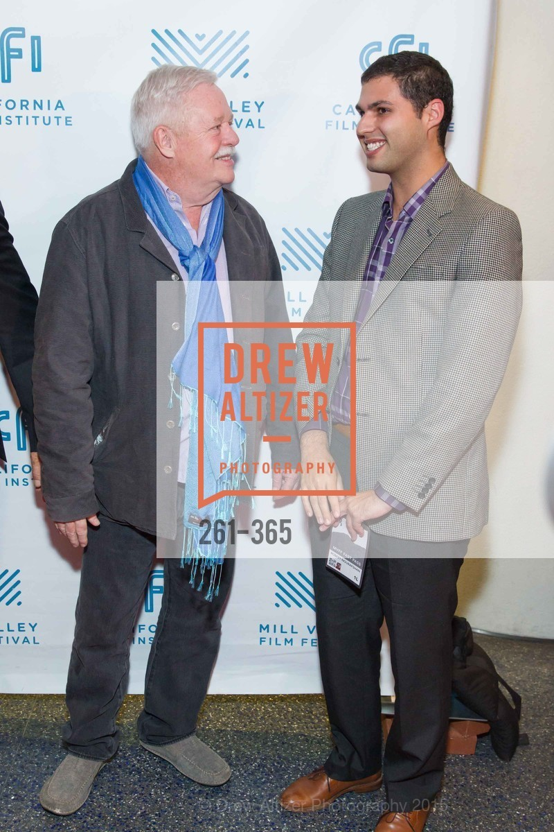 Armistead Maupin, Robert Nourafshan, Mill Valley Film Festival Tribute to Ian McKellen, Christopher B. Smith Rafael Film Center. 1118 Fourth Street, October 10th, 2015,Drew Altizer, Drew Altizer Photography, full-service agency, private events, San Francisco photographer, photographer california