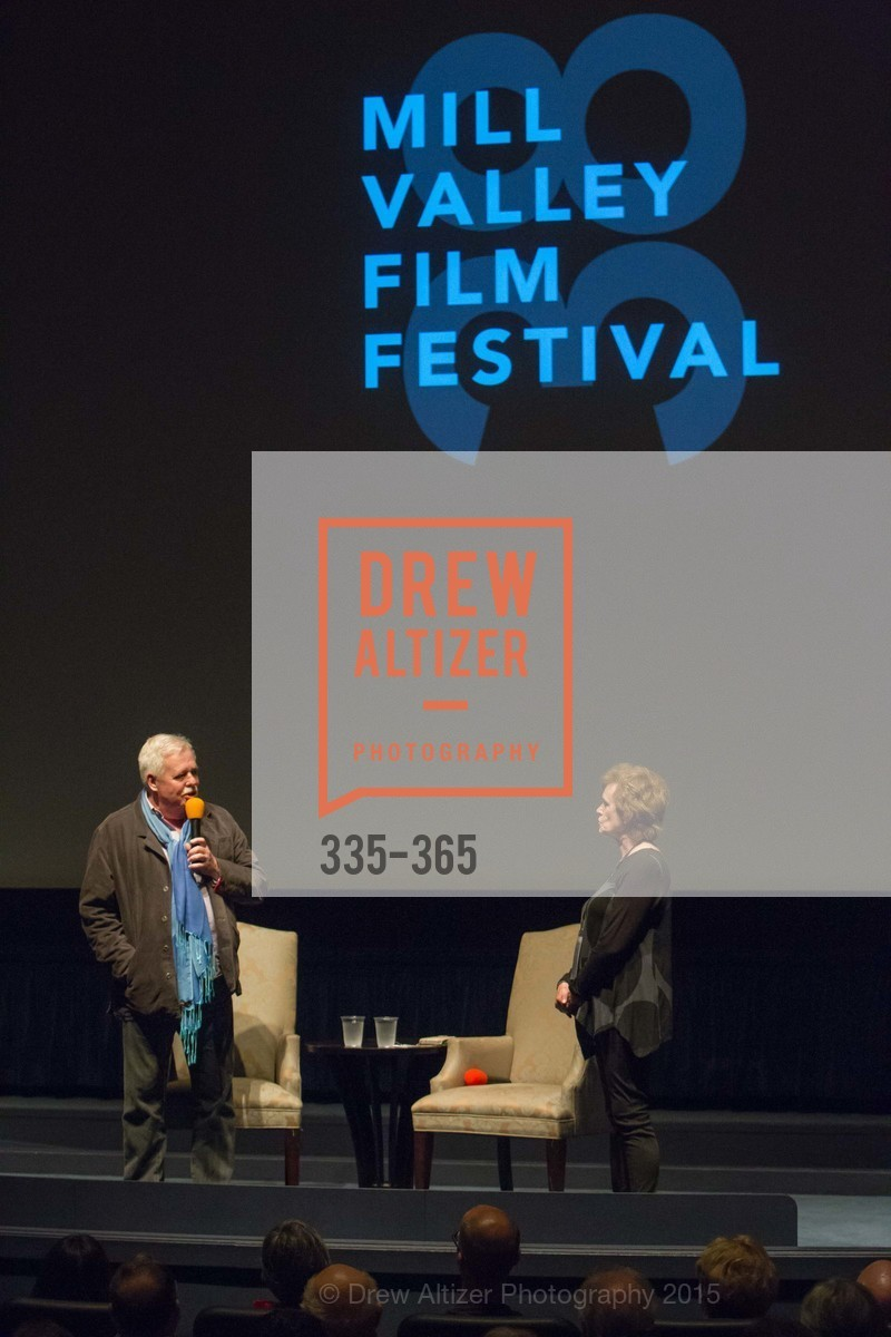 Armistead Maupin, Zoe Elton, Mill Valley Film Festival Tribute to Ian McKellen, Christopher B. Smith Rafael Film Center. 1118 Fourth Street, October 10th, 2015,Drew Altizer, Drew Altizer Photography, full-service agency, private events, San Francisco photographer, photographer california
