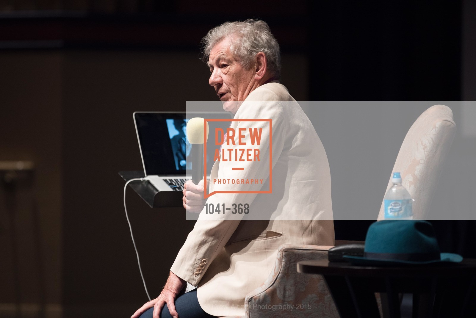 Sir Ian McKellen, IAN McKELLEN REMEMBERS at the  Mill Valley Film Festival, Christopher B. Smith Rafael Film Center. 1118 Fourth Street, October 12th, 2015,Drew Altizer, Drew Altizer Photography, full-service event agency, private events, San Francisco photographer, photographer California