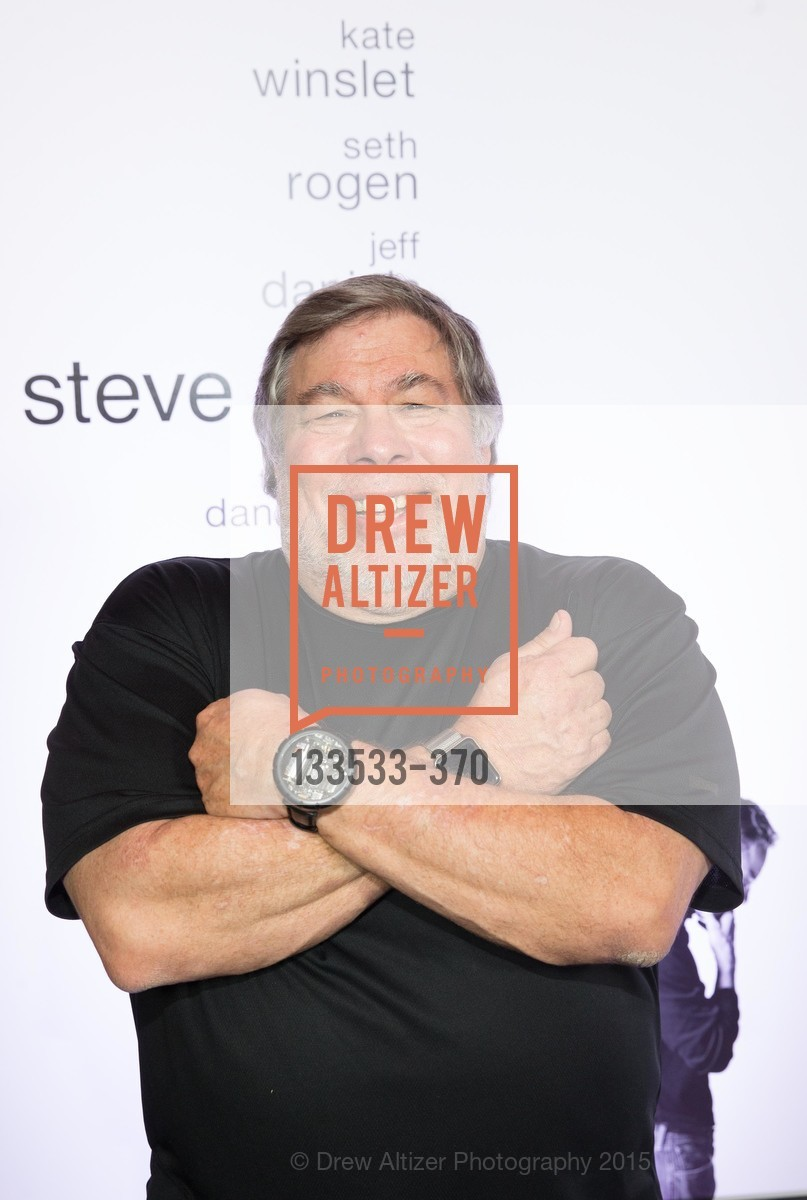 Steve Wozniak, SAN FRANCISCO SPECIAL SCREENING OF STEVE JOBS PRESENTED BY UNIVERSAL PICTURES, OCTOBER 9, 2015 AT THE CASTRO THEATRE, Castro Theater, October 9th, 2015,Drew Altizer, Drew Altizer Photography, full-service agency, private events, San Francisco photographer, photographer california