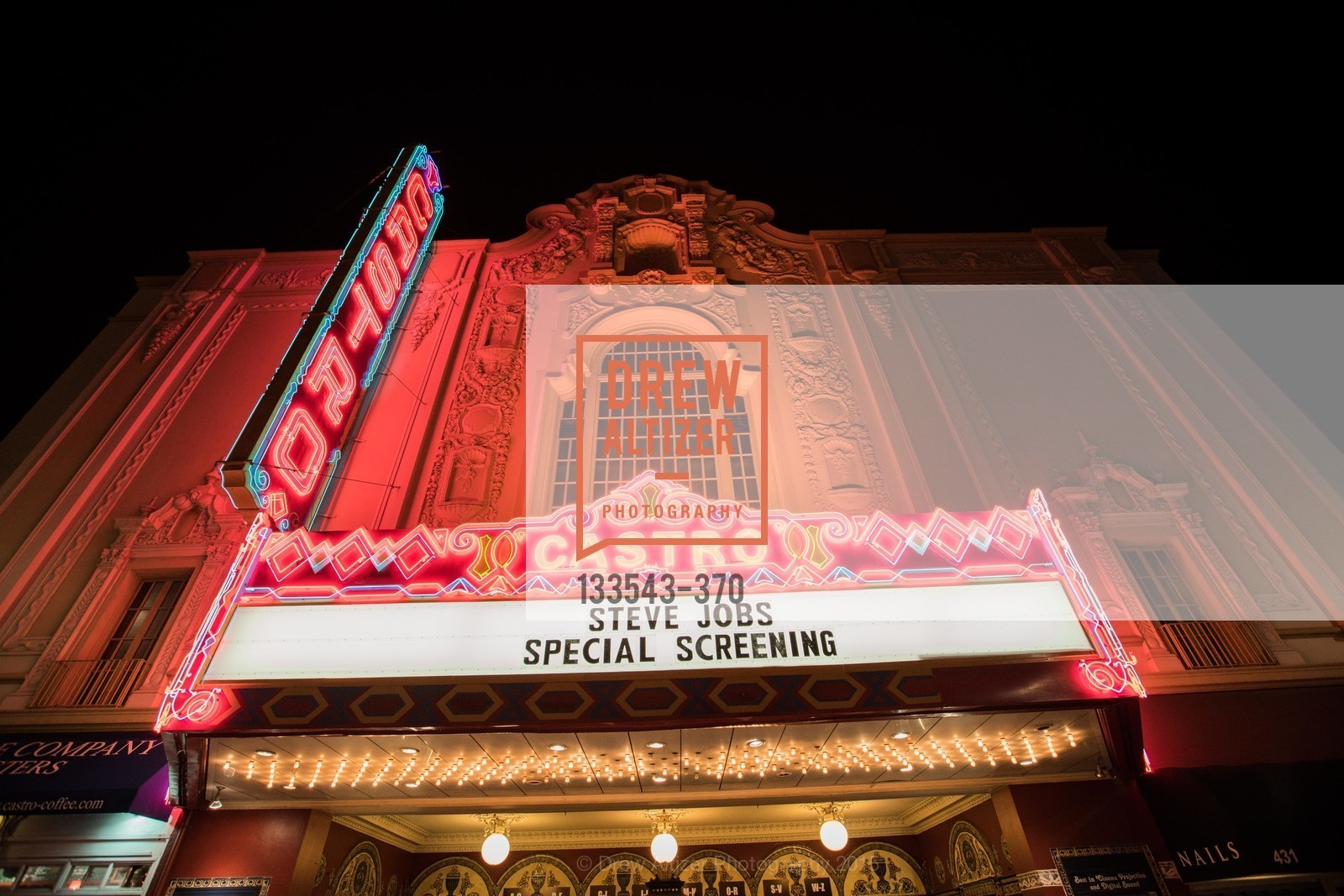 The Castro Theater, SAN FRANCISCO SPECIAL SCREENING OF STEVE JOBS PRESENTED BY UNIVERSAL PICTURES, OCTOBER 9, 2015 AT THE CASTRO THEATRE, Castro Theater, October 9th, 2015