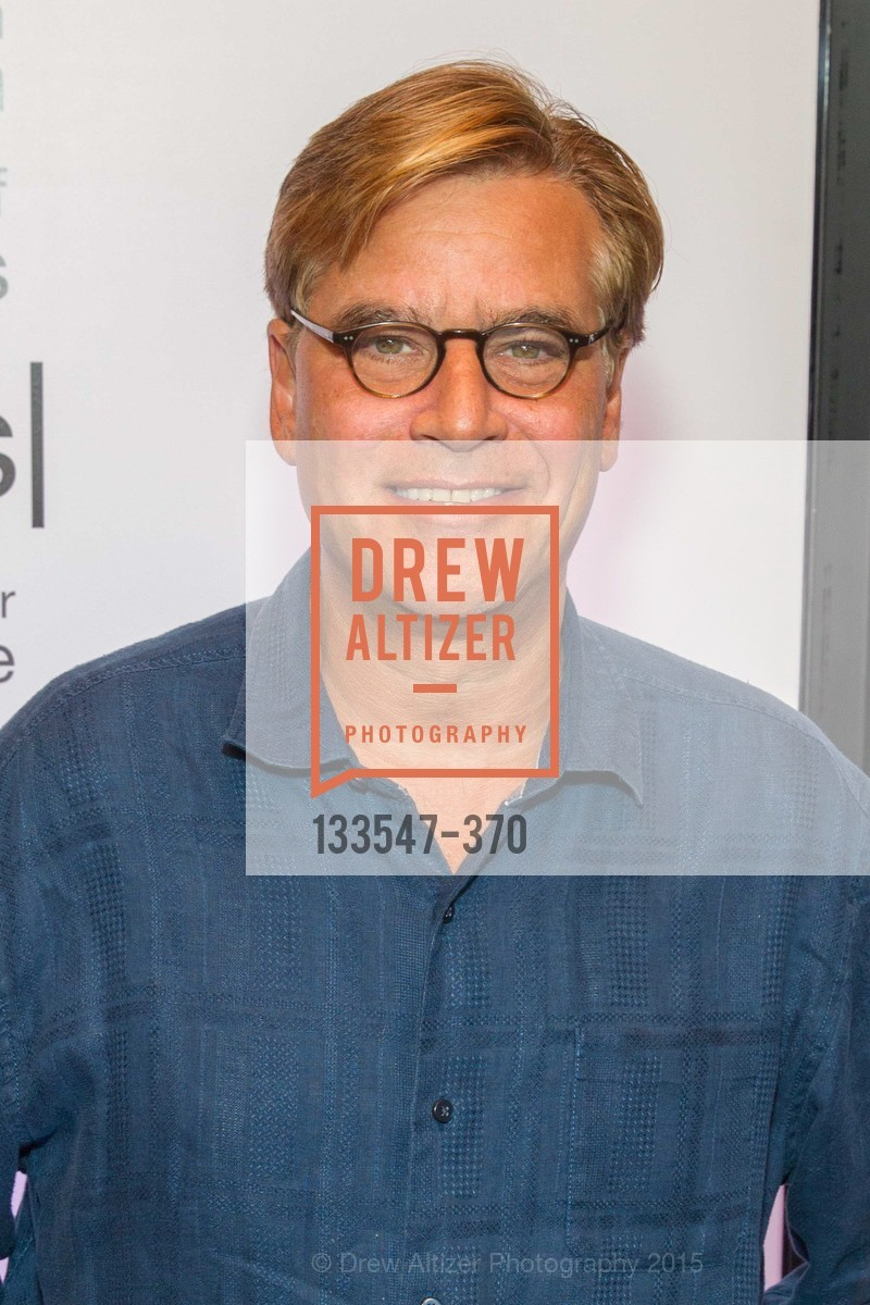 Screenwriter Aaron Sorkin, SAN FRANCISCO SPECIAL SCREENING OF STEVE JOBS PRESENTED BY UNIVERSAL PICTURES, OCTOBER 9, 2015 AT THE CASTRO THEATRE, Castro Theater, October 9th, 2015,Drew Altizer, Drew Altizer Photography, full-service agency, private events, San Francisco photographer, photographer california