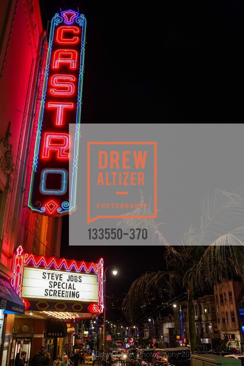 The Castro Theater, SAN FRANCISCO SPECIAL SCREENING OF STEVE JOBS PRESENTED BY UNIVERSAL PICTURES, OCTOBER 9, 2015 AT THE CASTRO THEATRE, Castro Theater, October 9th, 2015,Drew Altizer, Drew Altizer Photography, full-service agency, private events, San Francisco photographer, photographer california