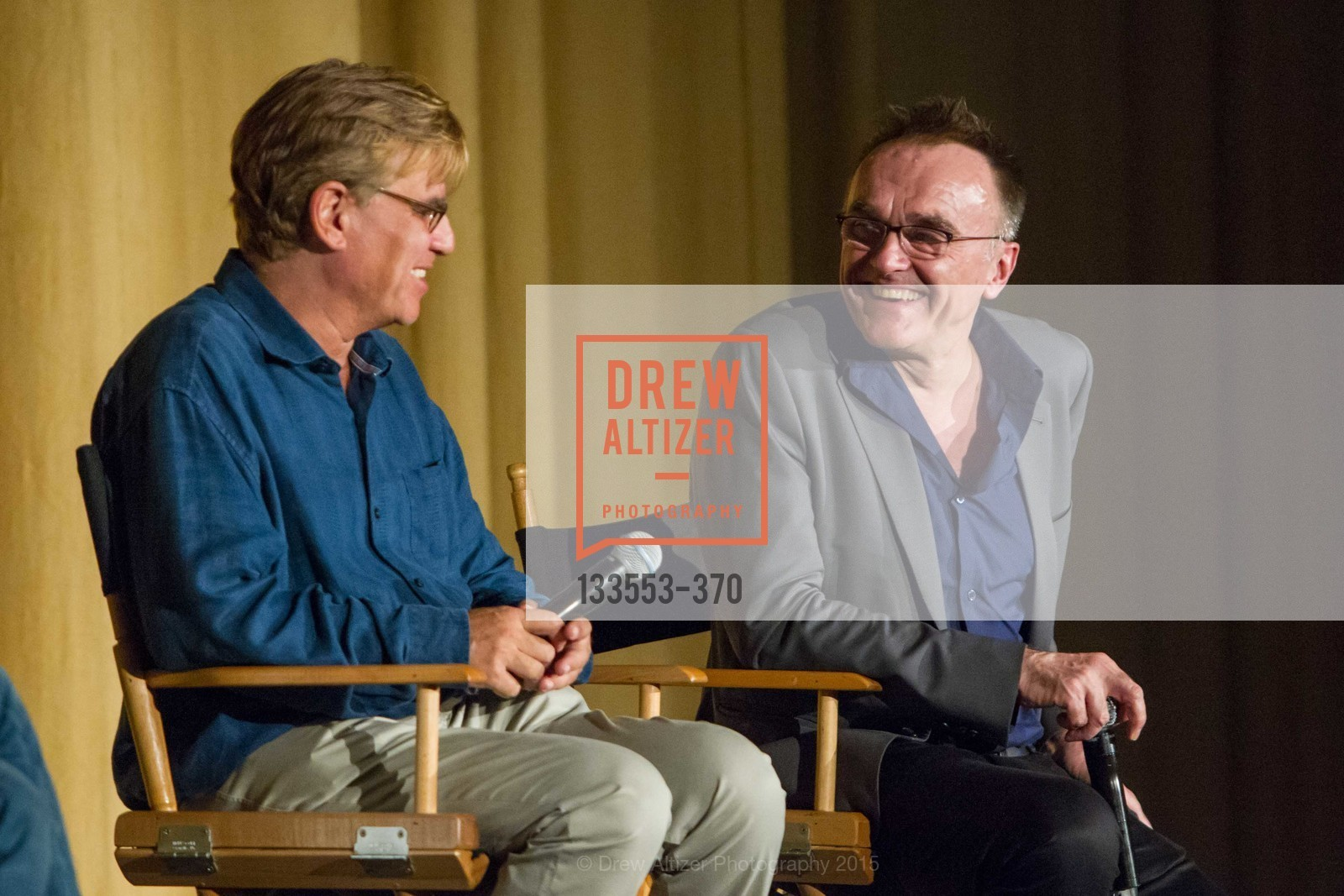 Screenwriter Aaron Sorkin, And Director Danny Boyle, SAN FRANCISCO SPECIAL SCREENING OF STEVE JOBS PRESENTED BY UNIVERSAL PICTURES, OCTOBER 9, 2015 AT THE CASTRO THEATRE, Castro Theater, October 9th, 2015,Drew Altizer, Drew Altizer Photography, full-service agency, private events, San Francisco photographer, photographer california