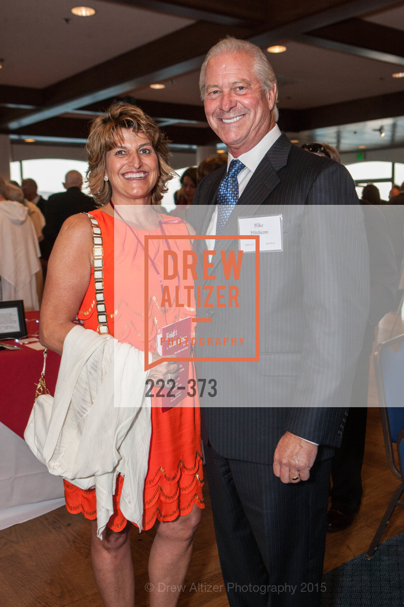Lisa Mitcheom, Michael Mitcheom, Sovereign Order of Malta Presents: A Knight for Champions, 7th Annual Silver Chalice Awards Dinner, St. Francis Yacht Club. 99 Yacht Rd, October 13th, 2015,Drew Altizer, Drew Altizer Photography, full-service agency, private events, San Francisco photographer, photographer california
