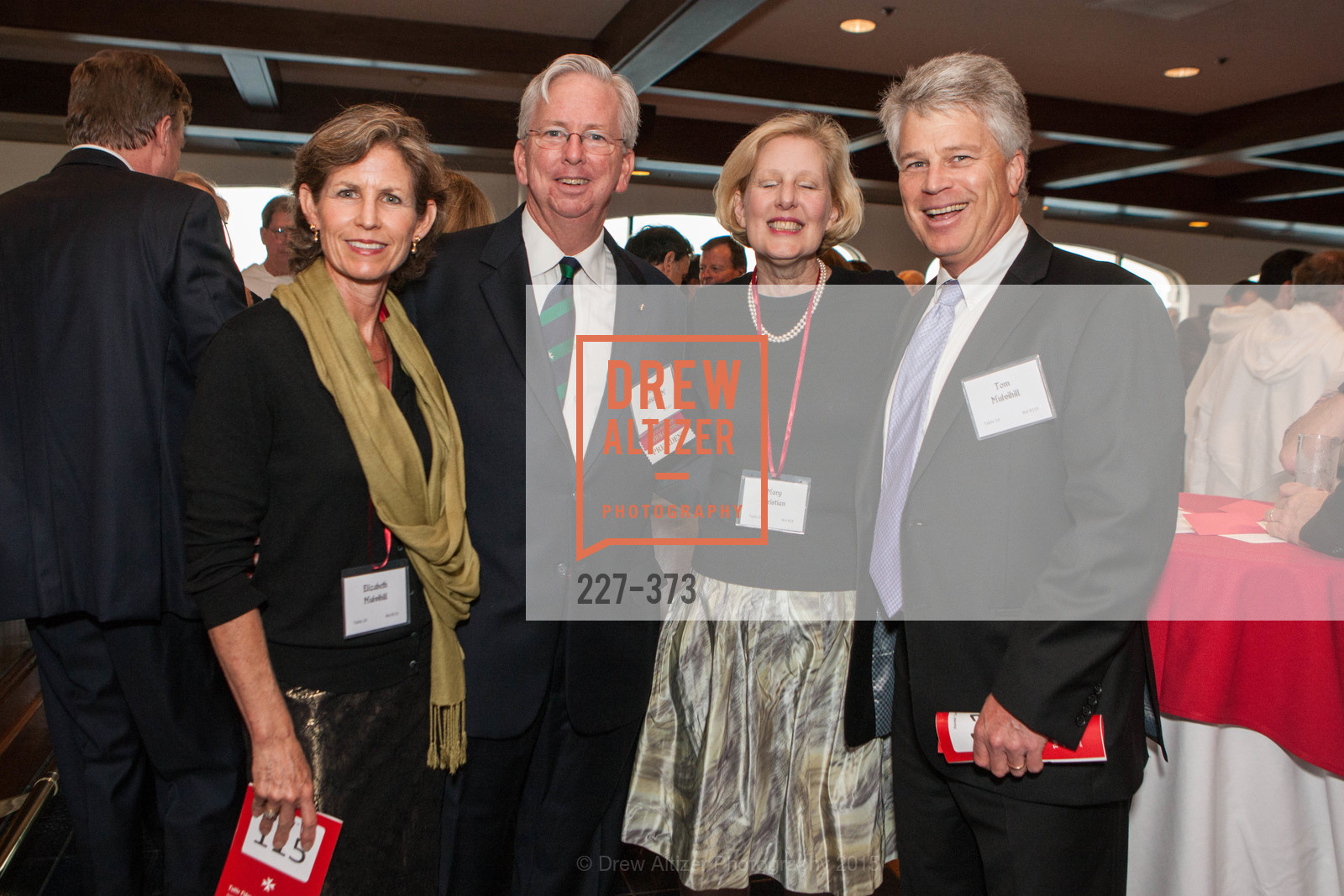 Elizabeth Mulvihill, John Christian, Mary Christian, Tom Mulvihill, Sovereign Order of Malta Presents: A Knight for Champions, 7th Annual Silver Chalice Awards Dinner, St. Francis Yacht Club. 99 Yacht Rd, October 13th, 2015,Drew Altizer, Drew Altizer Photography, full-service agency, private events, San Francisco photographer, photographer california