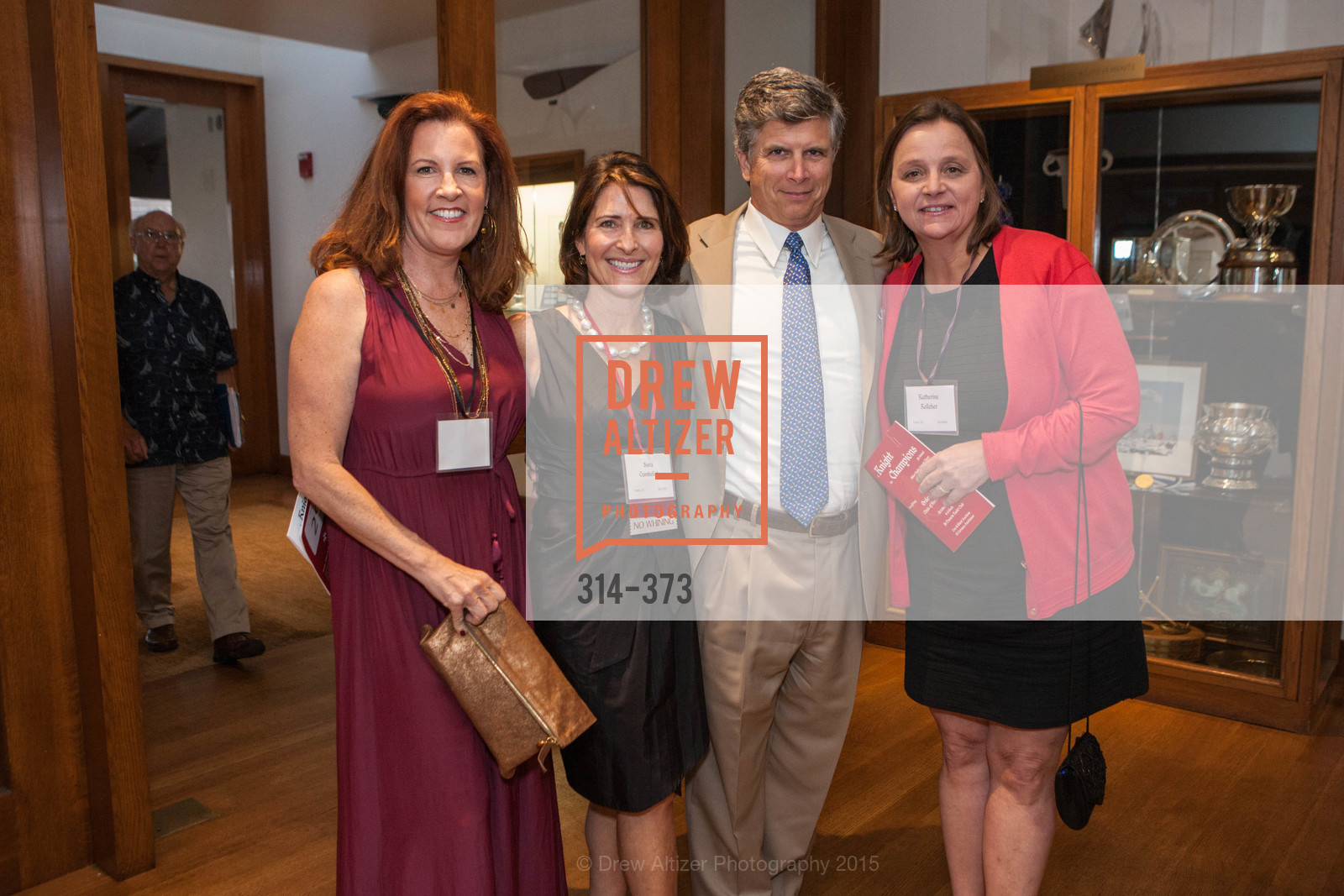 Theresa Baum, Sara Cumbelich, Brian Kelleher, Kathy Kelleher, Sovereign Order of Malta Presents: A Knight for Champions, 7th Annual Silver Chalice Awards Dinner, St. Francis Yacht Club. 99 Yacht Rd, October 13th, 2015,Drew Altizer, Drew Altizer Photography, full-service agency, private events, San Francisco photographer, photographer california