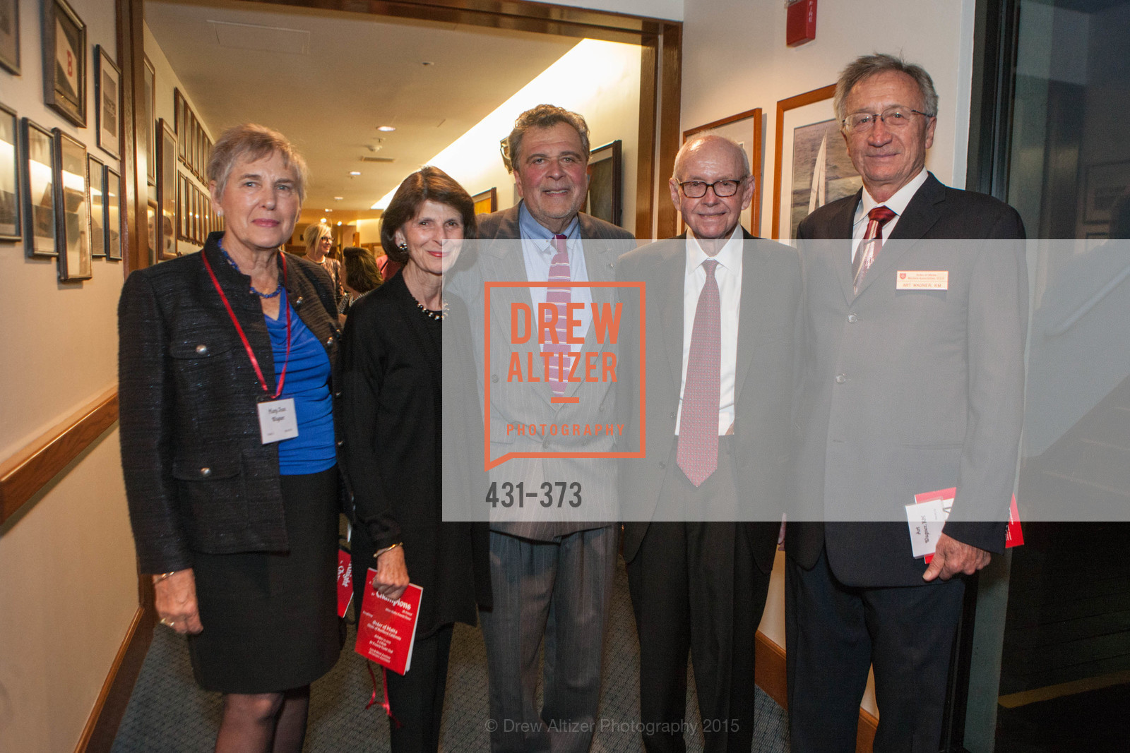 Mary Jean Wagner, Joanne Murphy, Robert Masi, Pete Murphy, Art Wagner, Photo #431-373