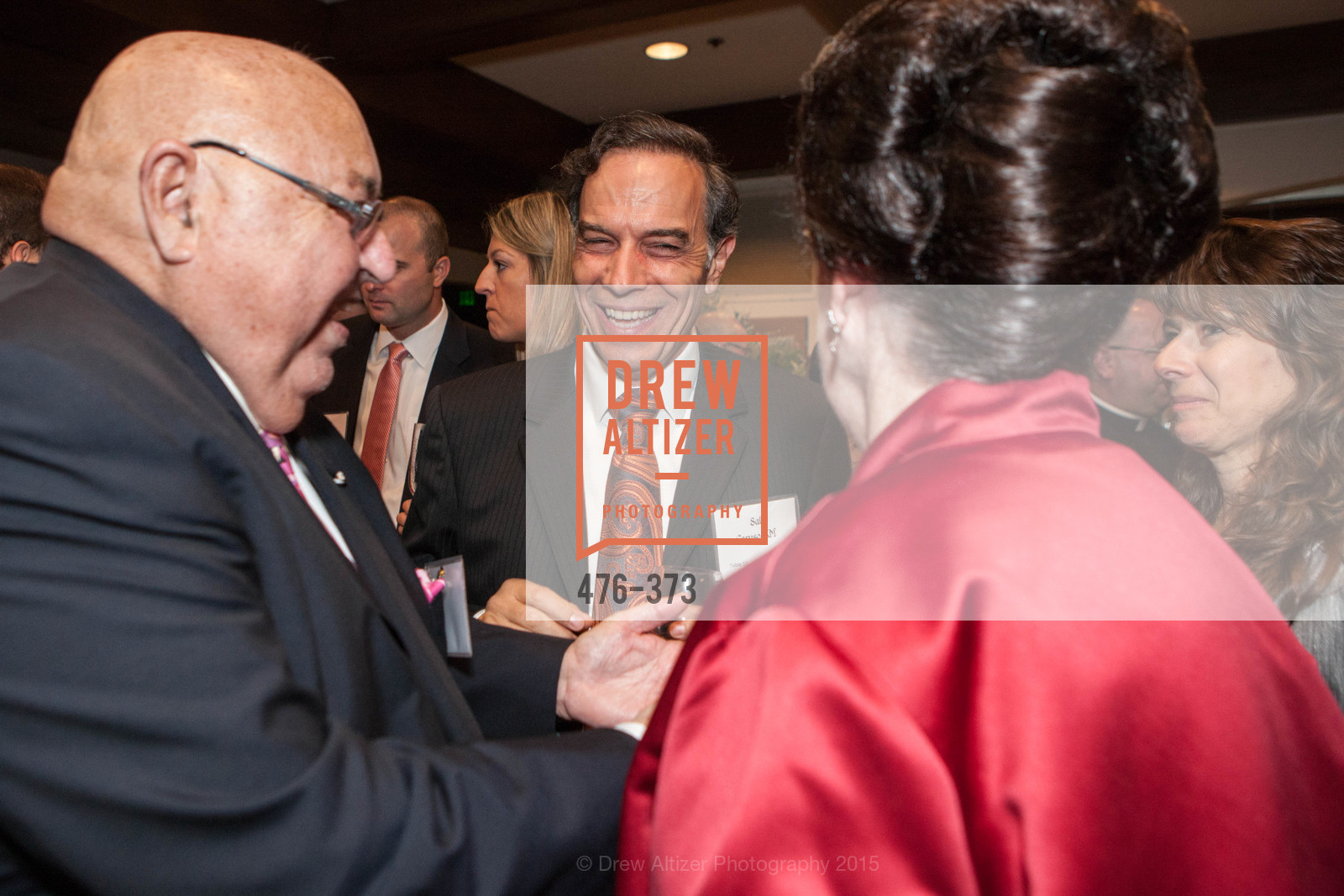Tony Sanchez-Corea, Sal Caruso, Lucille Sanchez-Corea, Sovereign Order of Malta Presents: A Knight for Champions, 7th Annual Silver Chalice Awards Dinner, St. Francis Yacht Club. 99 Yacht Rd, October 13th, 2015,Drew Altizer, Drew Altizer Photography, full-service agency, private events, San Francisco photographer, photographer california