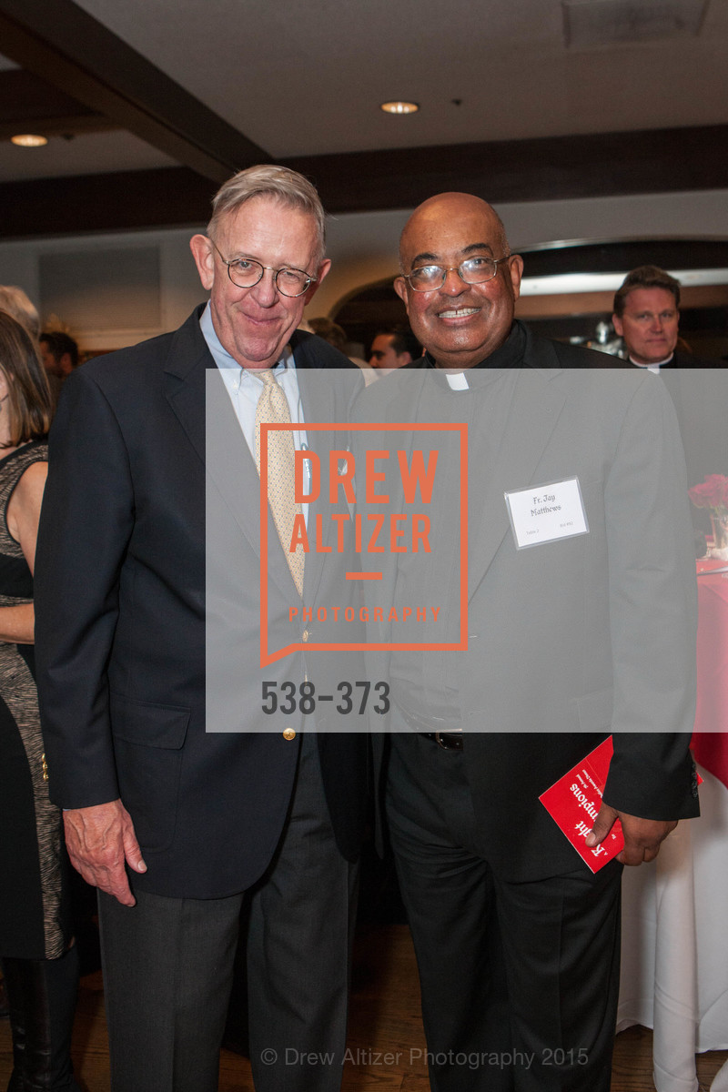 Mike Brown, Jay Matthews, Sovereign Order of Malta Presents: A Knight for Champions, 7th Annual Silver Chalice Awards Dinner, St. Francis Yacht Club. 99 Yacht Rd, October 13th, 2015,Drew Altizer, Drew Altizer Photography, full-service event agency, private events, San Francisco photographer, photographer California