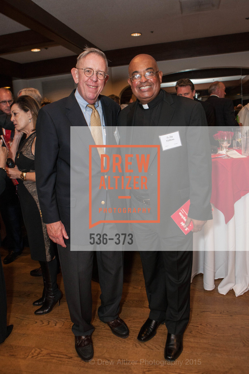 Mike Brown, Jay Matthews, Sovereign Order of Malta Presents: A Knight for Champions, 7th Annual Silver Chalice Awards Dinner, St. Francis Yacht Club. 99 Yacht Rd, October 13th, 2015,Drew Altizer, Drew Altizer Photography, full-service agency, private events, San Francisco photographer, photographer california