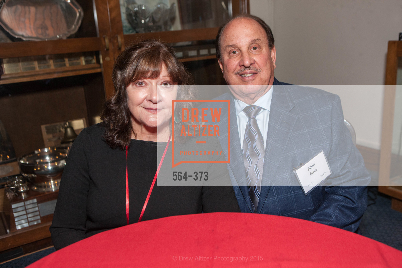 Sandra Seeno, Alberto Seeno, Sovereign Order of Malta Presents: A Knight for Champions, 7th Annual Silver Chalice Awards Dinner, St. Francis Yacht Club. 99 Yacht Rd, October 13th, 2015,Drew Altizer, Drew Altizer Photography, full-service agency, private events, San Francisco photographer, photographer california