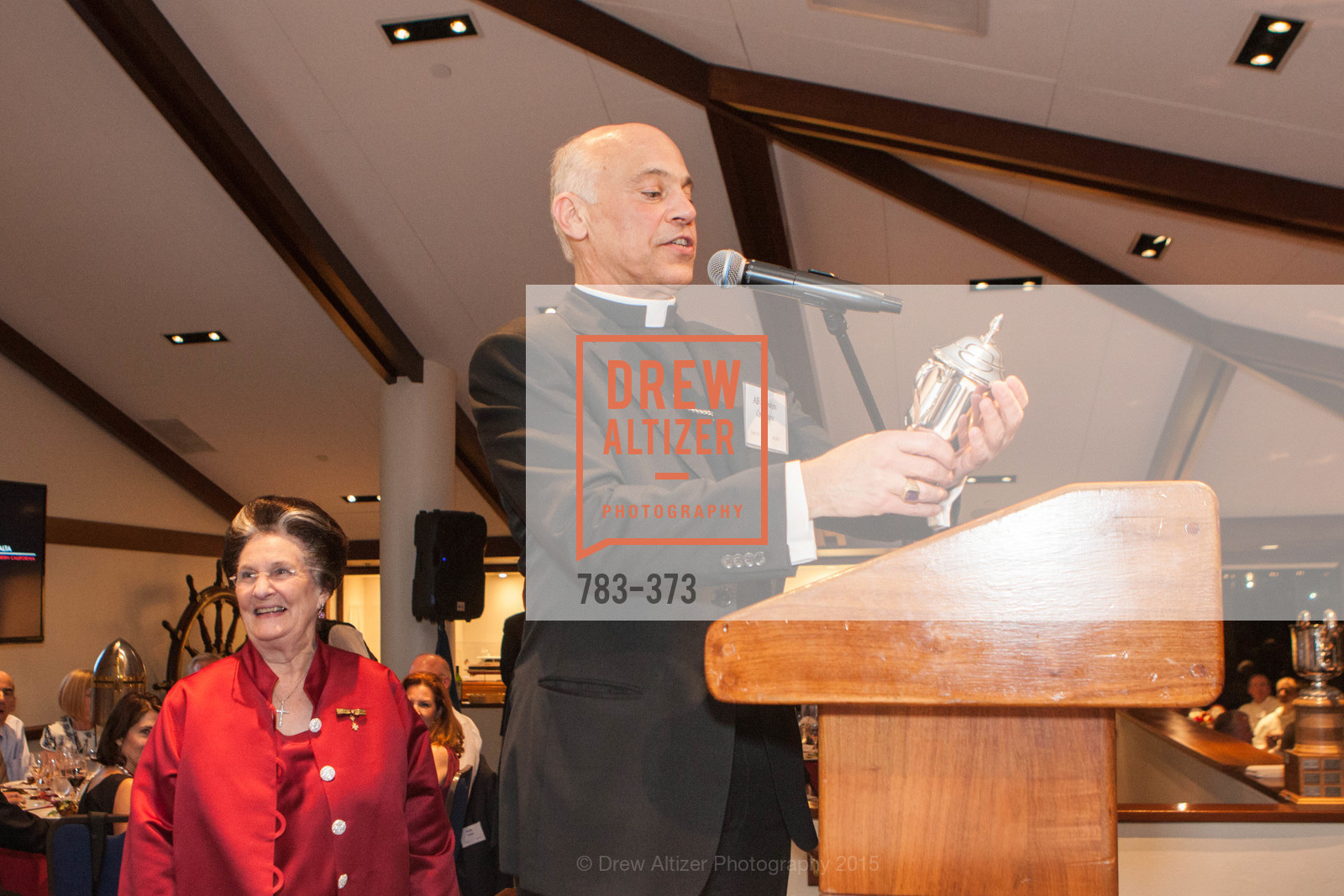 Salvatore Cordileone, Sovereign Order of Malta Presents: A Knight for Champions, 7th Annual Silver Chalice Awards Dinner, St. Francis Yacht Club. 99 Yacht Rd, October 13th, 2015,Drew Altizer, Drew Altizer Photography, full-service agency, private events, San Francisco photographer, photographer california