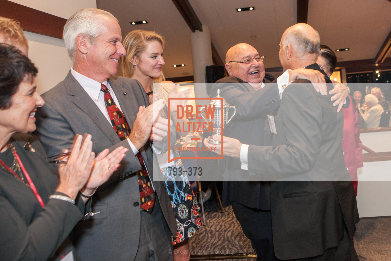 Laura Hosking, Doug Hosking, Katie Hosking, Tony Sanchez-Corea, Lucille Sanchez-Corea, Salvatore Cordileone, Sovereign Order of Malta Presents: A Knight for Champions, 7th Annual Silver Chalice Awards Dinner, St. Francis Yacht Club. 99 Yacht Rd, October 13th, 2015,Drew Altizer, Drew Altizer Photography, full-service agency, private events, San Francisco photographer, photographer california