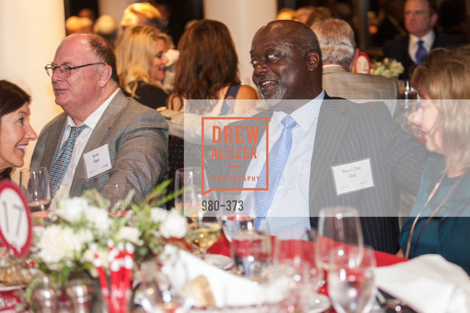 Kevin Ryan, C. Don Clay, Sovereign Order of Malta Presents: A Knight for Champions, 7th Annual Silver Chalice Awards Dinner, St. Francis Yacht Club. 99 Yacht Rd, October 13th, 2015,Drew Altizer, Drew Altizer Photography, full-service agency, private events, San Francisco photographer, photographer california