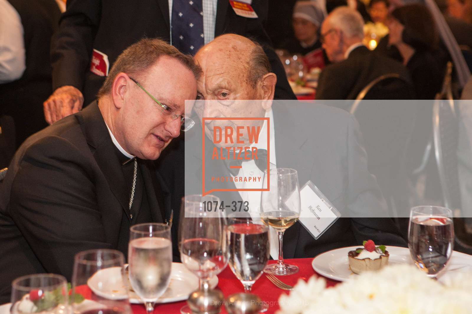 Michael Barber, Ken Hofmann, Sovereign Order of Malta Presents: A Knight for Champions, 7th Annual Silver Chalice Awards Dinner, St. Francis Yacht Club. 99 Yacht Rd, October 13th, 2015,Drew Altizer, Drew Altizer Photography, full-service agency, private events, San Francisco photographer, photographer california
