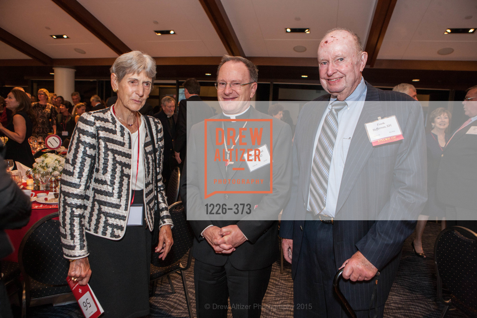 Lenore Heffernan, Michael Barber, Frank Heffernan, Sovereign Order of Malta Presents: A Knight for Champions, 7th Annual Silver Chalice Awards Dinner, St. Francis Yacht Club. 99 Yacht Rd, October 13th, 2015,Drew Altizer, Drew Altizer Photography, full-service event agency, private events, San Francisco photographer, photographer California