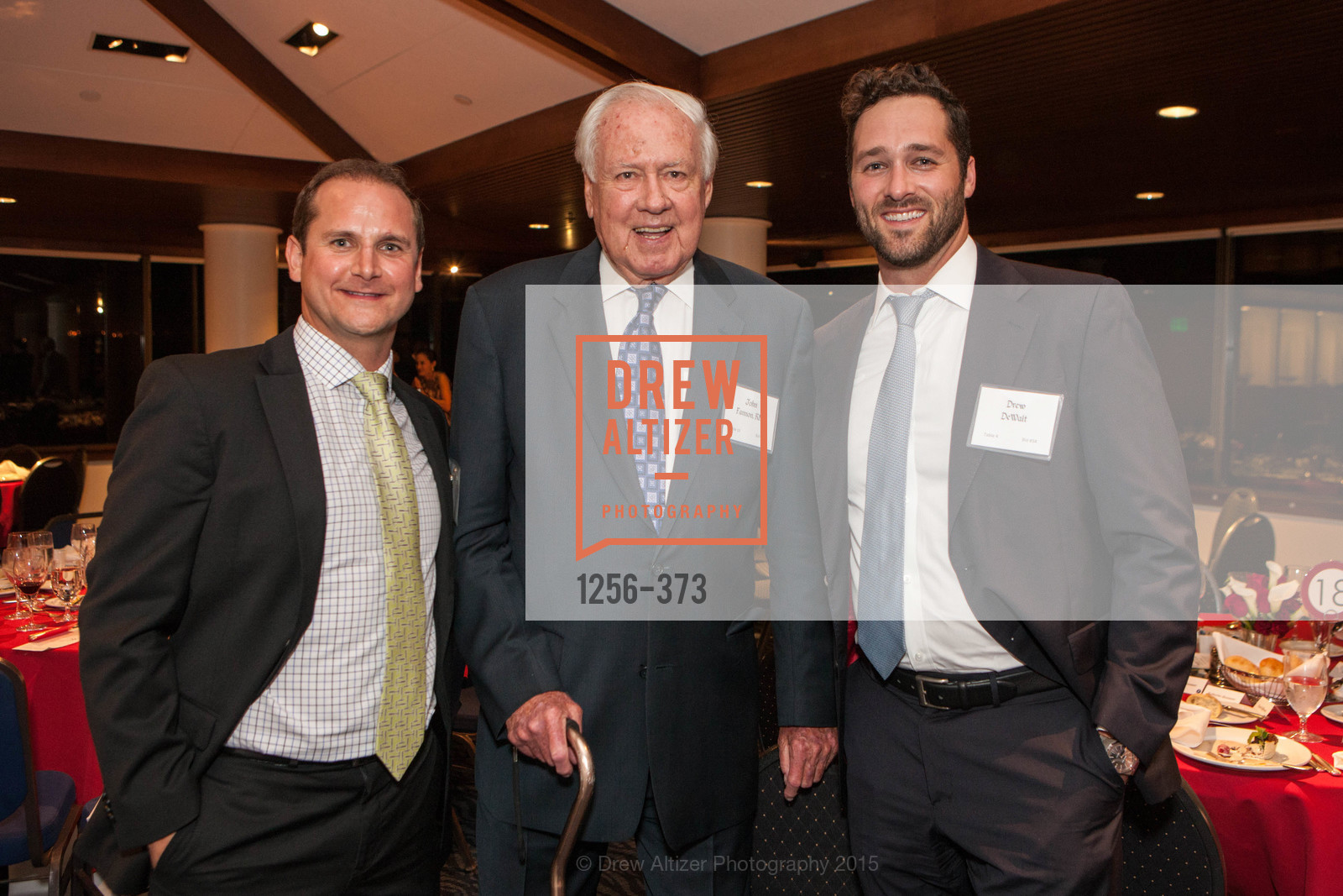 Zach Scheel, John Fannon, Drew DeWalt, Sovereign Order of Malta Presents: A Knight for Champions, 7th Annual Silver Chalice Awards Dinner, St. Francis Yacht Club. 99 Yacht Rd, October 13th, 2015,Drew Altizer, Drew Altizer Photography, full-service agency, private events, San Francisco photographer, photographer california