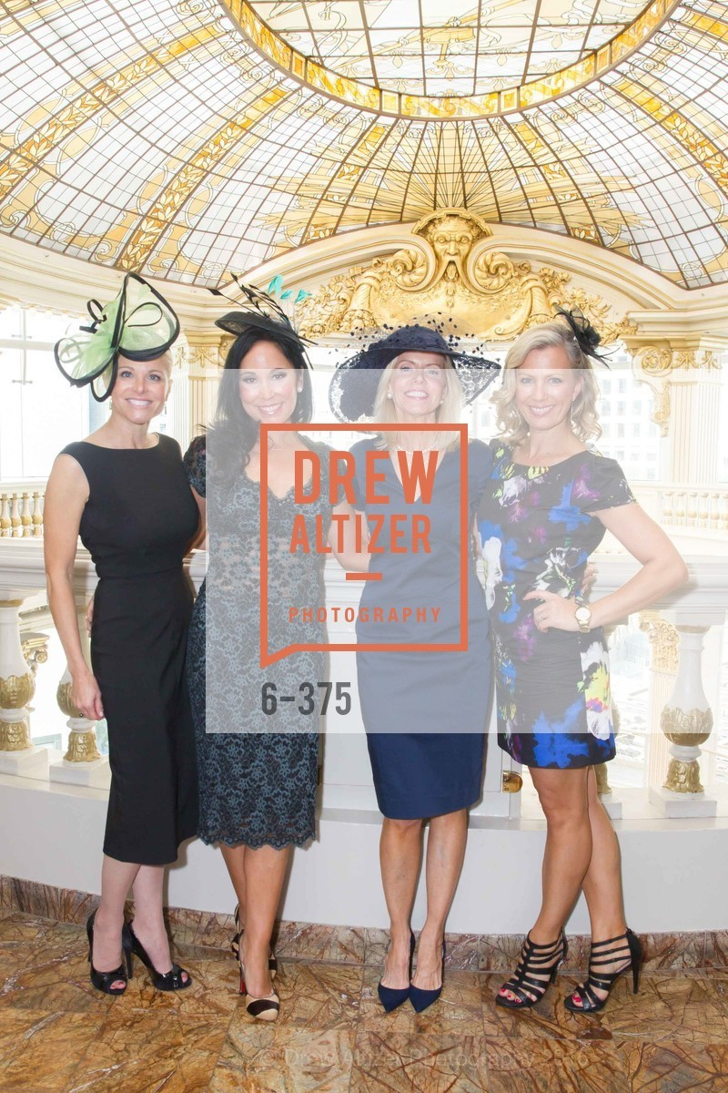 Lori Shigekane, Michelle Molfino, Mary Fenton, Sheree Pirie, SF Zoo Auxiliary Hosts Birds of a Feather Luncheon, Neiman Marcus, Rotunda. Level Four, 150 Stockton St, October 14th, 2015,Drew Altizer, Drew Altizer Photography, full-service agency, private events, San Francisco photographer, photographer california