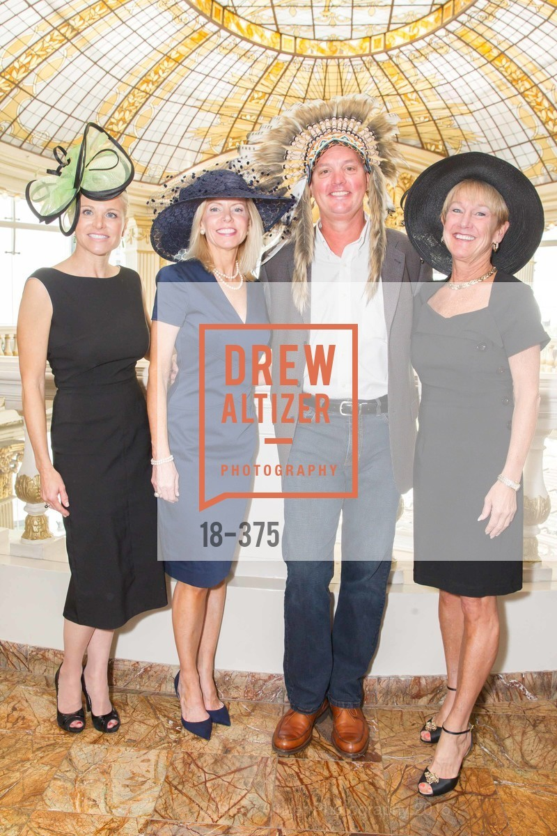 Lori Shigekane, Mary Fenton, Michael Updegraff, Debbie Clark, SF Zoo Auxiliary Hosts Birds of a Feather Luncheon, Neiman Marcus, Rotunda. Level Four, 150 Stockton St, October 14th, 2015,Drew Altizer, Drew Altizer Photography, full-service agency, private events, San Francisco photographer, photographer california