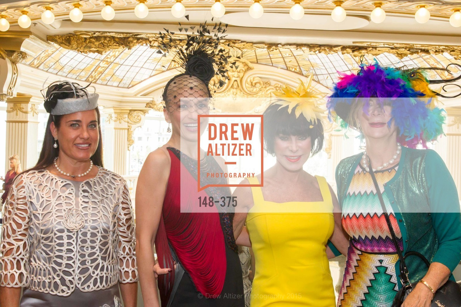Natalia Urrutia, Navid Armstrong, Marilyn Cabak, Trish Loucks, SF Zoo Auxiliary Hosts Birds of a Feather Luncheon, Neiman Marcus, Rotunda. Level Four, 150 Stockton St, October 14th, 2015,Drew Altizer, Drew Altizer Photography, full-service agency, private events, San Francisco photographer, photographer california