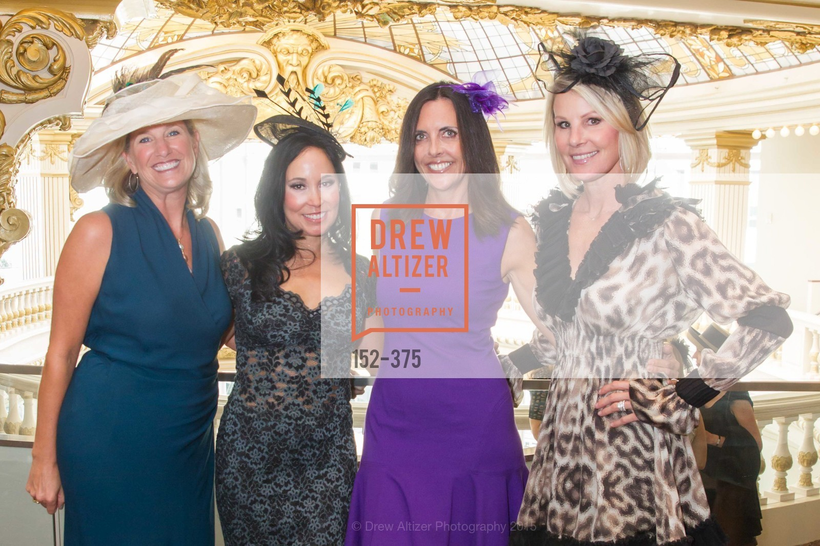 Jennifer Bressie, Michelle Molfino, Michele Sharkey, Sam Bohman, SF Zoo Auxiliary Hosts Birds of a Feather Luncheon, Neiman Marcus, Rotunda. Level Four, 150 Stockton St, October 14th, 2015,Drew Altizer, Drew Altizer Photography, full-service agency, private events, San Francisco photographer, photographer california