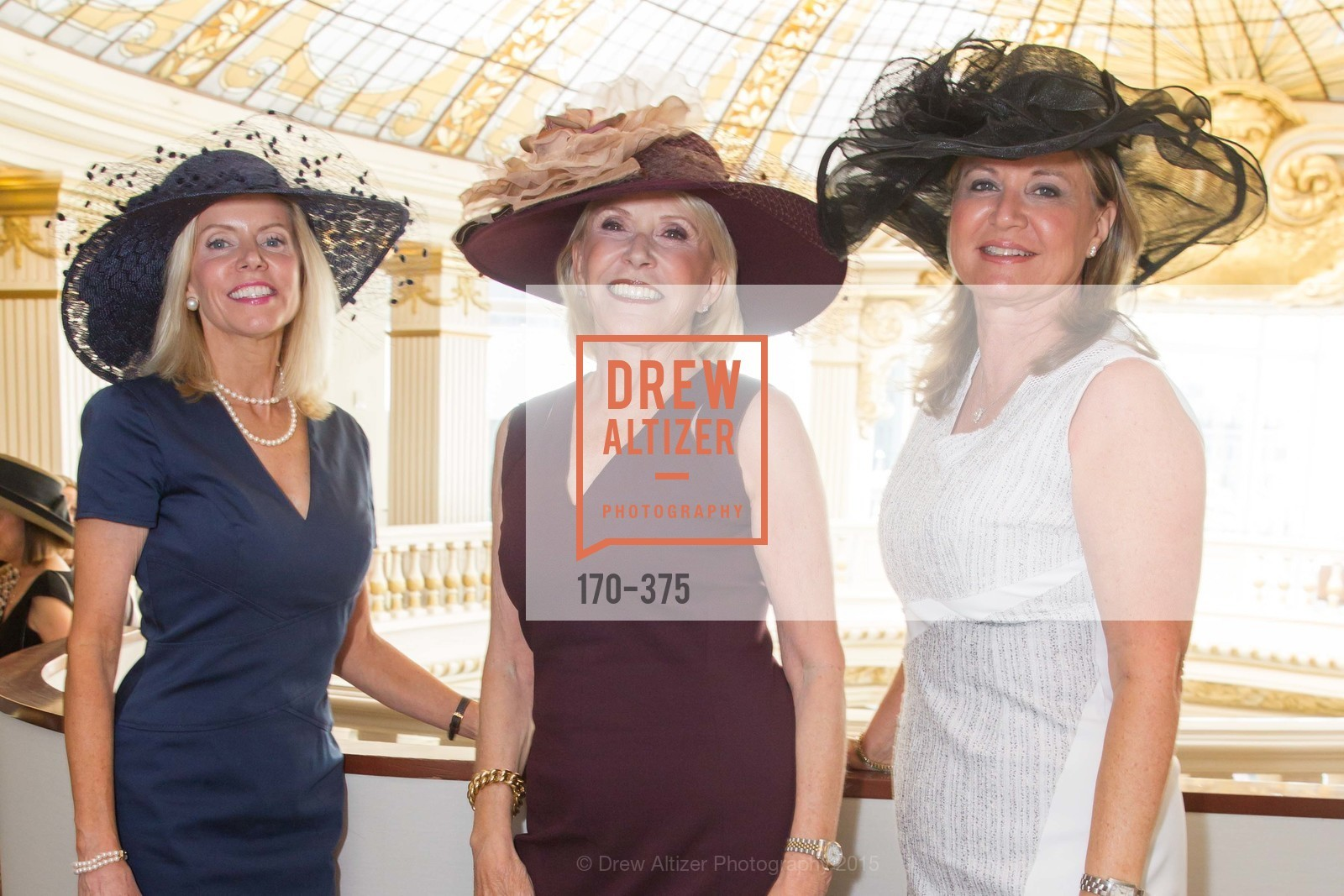 Mary Fenton, Gloria Smith, Michelle Glassman, SF Zoo Auxiliary Hosts Birds of a Feather Luncheon, Neiman Marcus, Rotunda. Level Four, 150 Stockton St, October 14th, 2015,Drew Altizer, Drew Altizer Photography, full-service agency, private events, San Francisco photographer, photographer california