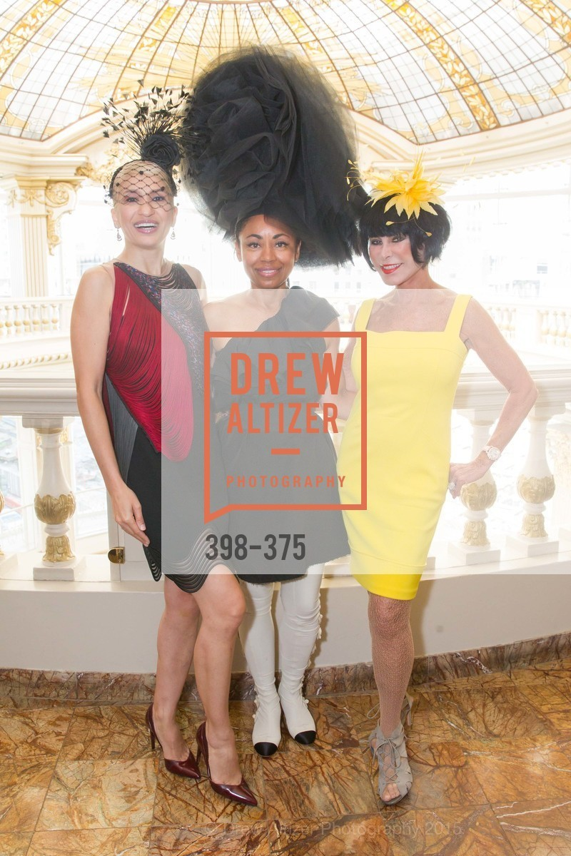 Navid Armstrong, Tanya Powell, Marilyn Cabak, SF Zoo Auxiliary Hosts Birds of a Feather Luncheon, Neiman Marcus, Rotunda. Level Four, 150 Stockton St, October 14th, 2015,Drew Altizer, Drew Altizer Photography, full-service agency, private events, San Francisco photographer, photographer california