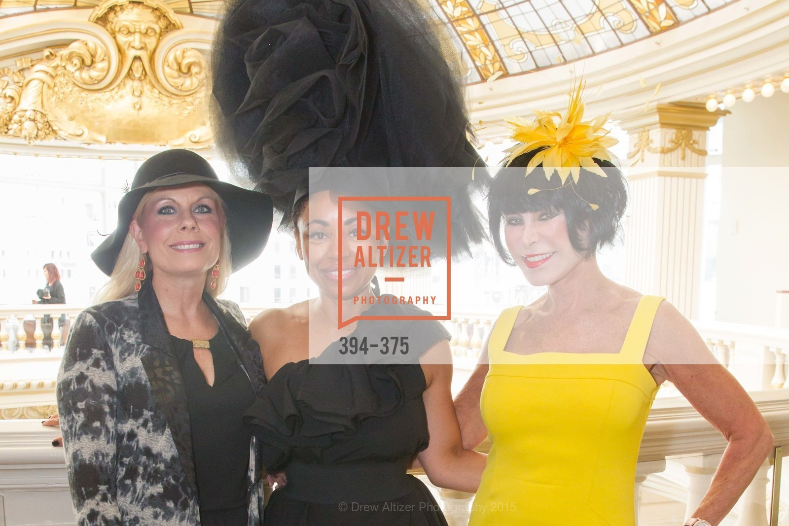 Jacqueline Jacoby, Tanya Powell, Marilyn Cabak, SF Zoo Auxiliary Hosts Birds of a Feather Luncheon, Neiman Marcus, Rotunda. Level Four, 150 Stockton St, October 14th, 2015,Drew Altizer, Drew Altizer Photography, full-service agency, private events, San Francisco photographer, photographer california