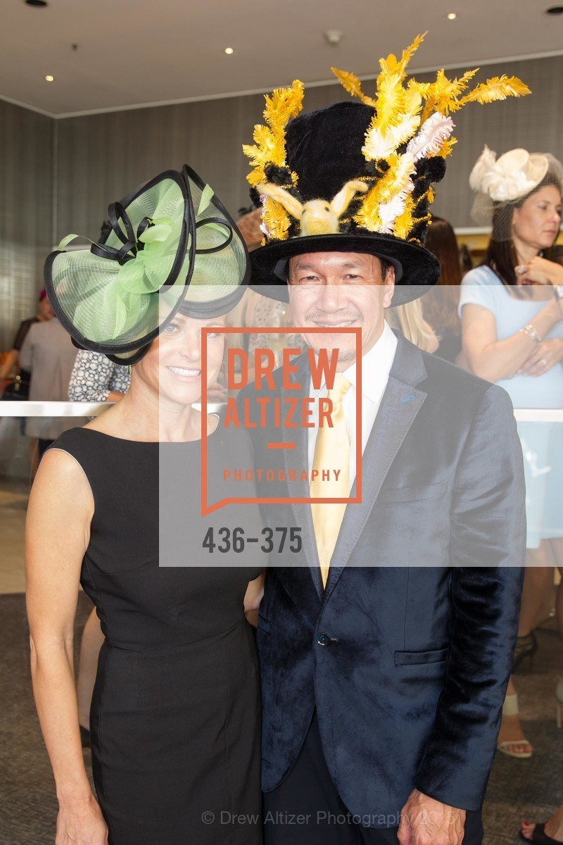 Lori Shigekane, Tim Wu, SF Zoo Auxiliary Hosts Birds of a Feather Luncheon, Neiman Marcus, Rotunda. Level Four, 150 Stockton St, October 14th, 2015