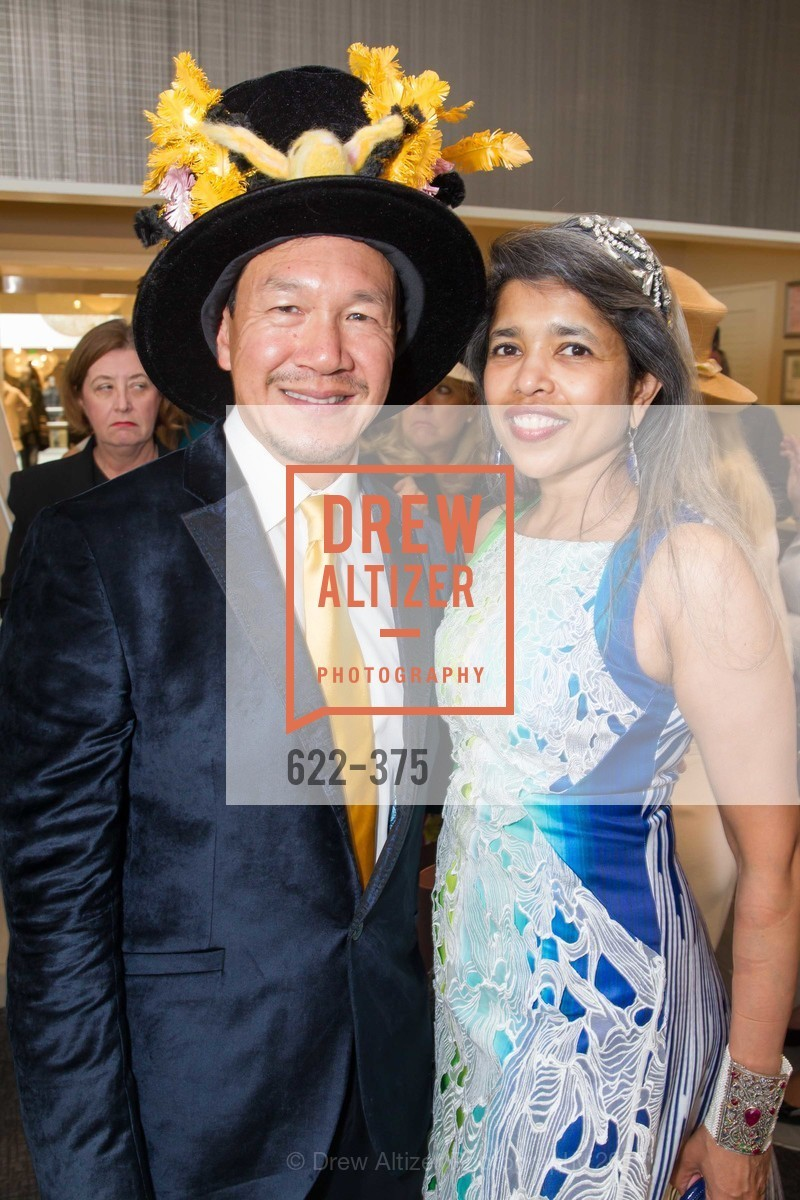 Tim Wu, Deepa Pakianathan, SF Zoo Auxiliary Hosts Birds of a Feather Luncheon, Neiman Marcus, Rotunda. Level Four, 150 Stockton St, October 14th, 2015,Drew Altizer, Drew Altizer Photography, full-service agency, private events, San Francisco photographer, photographer california