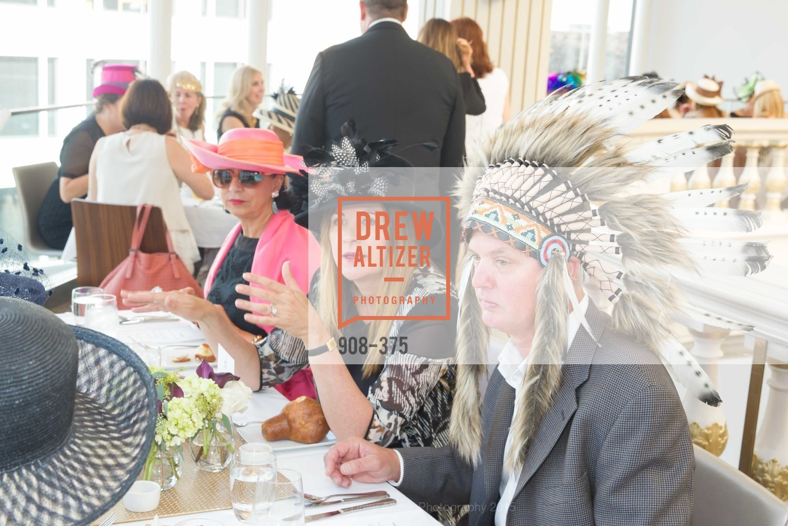 Usha Burns, Tanya Peterson, Michael Updegraff, SF Zoo Auxiliary Hosts Birds of a Feather Luncheon, Neiman Marcus, Rotunda. Level Four, 150 Stockton St, October 14th, 2015,Drew Altizer, Drew Altizer Photography, full-service agency, private events, San Francisco photographer, photographer california