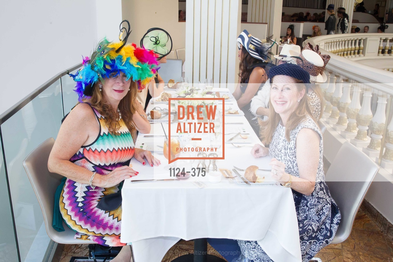 Trish Loucks, Ave Seltsam, SF Zoo Auxiliary Hosts Birds of a Feather Luncheon, Neiman Marcus, Rotunda. Level Four, 150 Stockton St, October 14th, 2015,Drew Altizer, Drew Altizer Photography, full-service agency, private events, San Francisco photographer, photographer california